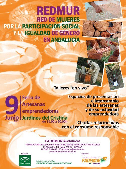 REDMUR: Feria de Artesanas y emprendedoras rurales de Andalucía